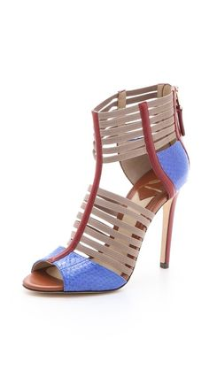 Shop for Langden Multicolor Sandals by Brian Atwood at ShopStyle. Hot Shoes, Shoes Heels, Pumps, Jimmy Choo, Prada, Christian Louboutin, Stiletto Heels, High Heels, Gucci