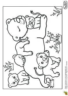 Bebe Animaux Lionne Et Lionceaux, page 2 sur 12 sur HugoLescargot.com