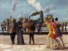 Reginald Marsh - The Battery, vers 1926