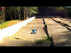 Amazing FPV RC Buggy Chase on SMALL RC track!