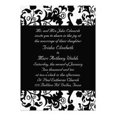 DealsElegant black and white Wedding InvitationYes I can say you are on right site we just collected best shopping store that have