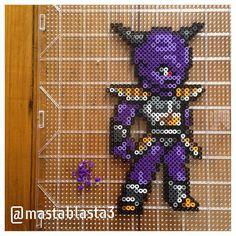 Captain Ginyu - Dragon Ball perler beads by mastablasta3