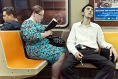 What people are reading on the subway
