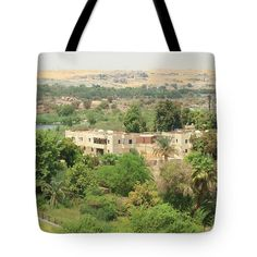 Tote Bag featuring the photograph Aswan  by Silvia Bruno
