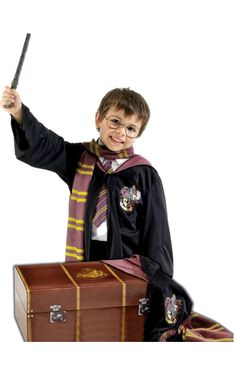 Fans of the Harry Potter books and movies will love these Harry Potter Halloween costumes! Dress as your favorite Harry Potter character this Halloween. Hermione Granger Fancy Dress, Harry Potter Fancy Dress, Harry Potter Robes, Harry Potter Cosplay, Childrens Fancy Dress, Boys Fancy Dress, Kids Dress Up, Childrens Party, Fantasia Do Harry Potter