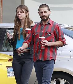 Shia LaBeouf's girlfriend, Mia Goth, completely freaks me out with her lack of eyebrows