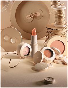 Craft Paper Couture – Lipstick, LipGloss, Eye Shadow, Paint Pot and more in a seamless spectrum of parchment-to-vellum beiges  Check it out here http://www.temptalia.com/mac-pret-a-papier-collection-for-summer-2010#