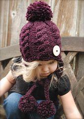 Ravelry: Roxie Hat pattern by Heidi May