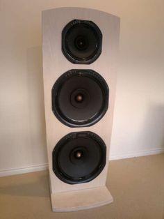 Audio Nirvana Drivers in Open Baffle: 1X AN Super 10 Neodymium 2X AN Super 15 Cast Frame