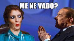 Berlusconi condannato! Me ne vado? Me ne vado! Me ne vado???