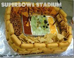 DIY Superbowl Stadium Party Food | Ring Around the Rosies.   Pretzel nuggets instead of twinkies?