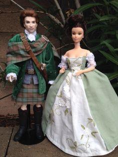 Outlander - Claire and Jamie Fraser wedding set