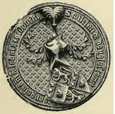 Seal of William Douglas, 2nd Earl of Angus - 19th Maternal Great Grandfather.  William was a Scottish nobleman and soldier. The son of George Douglas, 1st Earl of Angus and Princess Mary of Scotland, he was a grandson of King Robert III.  Douglas was born about 1398 at Tantallon Castle in East Lothian. He inherited the Earldom of Angus in 1402, following his father's death of the plague while in English captivity, following the Battle of Homildon Hill.