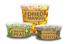 Tesco organic food packaging visuals