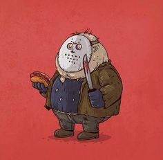 As versões mais gordinhas dos personagens – bluw