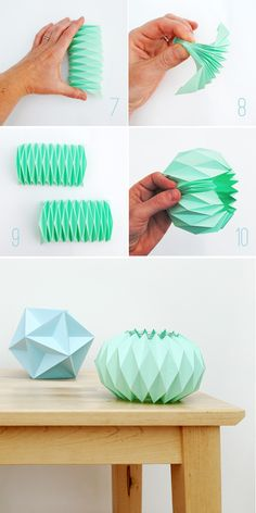 Origami for Everyone – From Beginner to Advanced – DIY Fan Origami Diy, Origami Bowl, Origami Lamp, Origami Star Box, Paper Crafts Origami, Origami Design, Origami Stars, Oragami, Origami Instructions