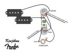 p bass wiring diagram - Google Search
