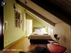 City Circus, the alternative hotel – Athens Travel Guide Generator Hostel, Indoor Swimming Pools, Rooftop Terrace, Private Room, Common Area, Double Beds, Minimalist Design, Guest Room, Loft