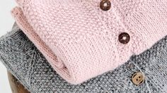 Glitz at the Ritz pattern by Helen Stewart Knitting For Kids, Baby Knitting Patterns, Free Knitting, Crochet Bebe, Knit Crochet, Baby Barn, Baby Cardigan, Baby Sweaters, Diy Baby