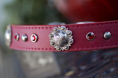 For the stylish pup...Berry Swirl Dog Collar by kippyandco on Etsy.