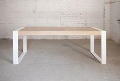 'Aspen' - wooden oak table 235x80cm Photo: Marta Niedbalec #poppyworks #poppyworkspl #woodentable