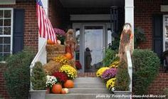 Outdoor Thanksgiving decorations, Decorations Thanksgiving ...