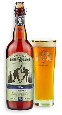 Ommegang Limited Edition BPA. (And A's parents brough il Cortigiano Moscato—sweet! good!—and Prosecco.)