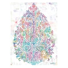 Paisley Tree Canvas Print - Urban Road - on Temple & Webster today. www.templeandwebster.com.au