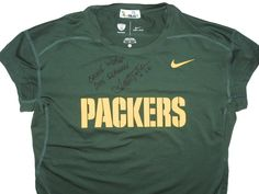 Scott Tolzien Game Worn   Signed Green Bay Packers