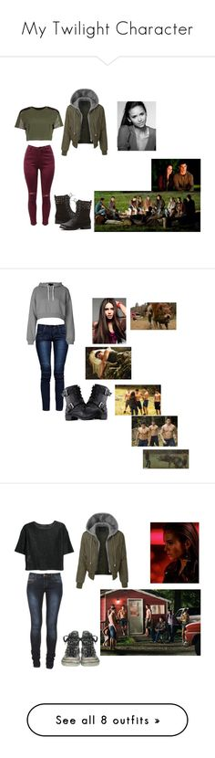"""My Twilight Character"" by salvatorelover23 ❤ liked on Polyvore featuring LE3NO, Boohoo, November, B. Ella, Topshop, twilight, wolfpack, MANGO, ARI and Converse"