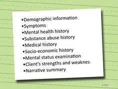 Aimhi Mental Health Assessment Form  Mental Health Assessment