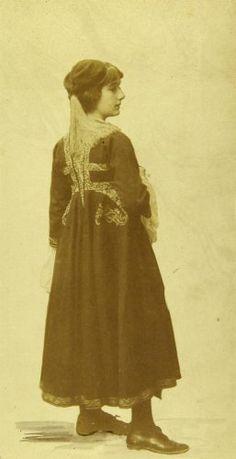 Folk Costume, Costumes, Greek, High Neck Dress, Traditional, Collection, Vintage, Dresses, Fashion