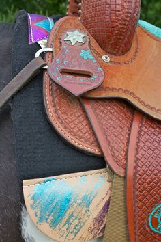 Glittery Best Ever Saddle Pads | Horses & Heels
