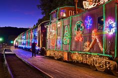 christmas trains | Niles Canyon Railroad Christmas Train | Flickr - Photo Sharing!