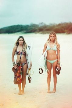 Bruna & Alana inspirations right here both amazing surfers