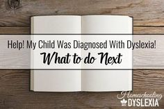 What to do When Your Child is Diagnosed With Dyslexia Dyslexia Teaching, Teaching Reading, Teaching Kids, Anxiety In Children, My Children, Dyslexia Strategies, Reading Strategies, Reading Skills, How To Teach Kids