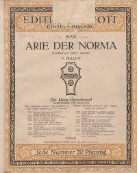 Arie der Norma   Bellini V.