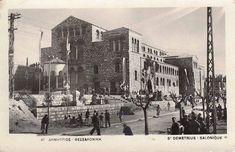 Στο κέντρο της Θεσσαλονίκης, επί της ομώνυμης οδού, βρίσκεται οΆγιος Δημήτριος, ένας Ιερός Ναός που αποτελεί σημαντικότατο μνημείο της παλαιοχριστιανικής περιόδου.   #ΆγιοςΔημήτριος #θεσσαλονικη #Ιστορία #ναός #χριστιανισμος As Time Goes By, Thessaloniki, Macedonia, World Cultures, Old Photos, New York Skyline, Greece, Past, Louvre