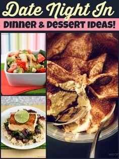 Date-Night-In Dinner and Dessert Ideas #GelatoLove #sponsored