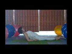[Yoga trị liệu] Tư thế con cá chữa các bệnh hô hấp, căn chỉnh cong vẹo cột sống chữa gù lưng. - YouTube
