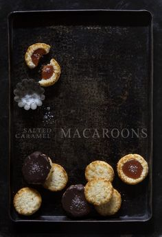Salted Caramel Macaroon Thumbprints via BHG Delish Dish