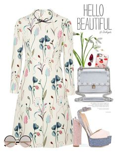 """""""💕"""" by gabyidc ❤ liked on Polyvore featuring Casetify, Fendi, Giuseppe Zanotti, Miu Miu, NARS Cosmetics, Marc by Marc Jacobs, Sydney Evan and DOSE of ROSE"""