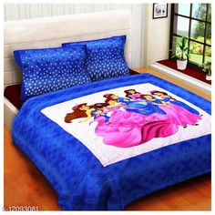 Checkout this latest Bedsheets Product Name: *Barvi Cotton Queen Size Double Bedsheet With Tow Pillow Cover * Fabric: Cotton No. Of Pillow Covers: 2 Thread Count: 250 Multipack: Pack Of 1 Sizes: Queen (Length Size: 100 in, Width Size: 90 in, Pillow Length Size: 27 in, Pillow Width Size: 17 in)  Country of Origin: India Easy Returns Available In Case Of Any Issue   Catalog Rating: ★4 (388)  Catalog Name: Classic Attractive Bedsheets CatalogID_2309028 C53-SC1101 Code: 373-12093081-798