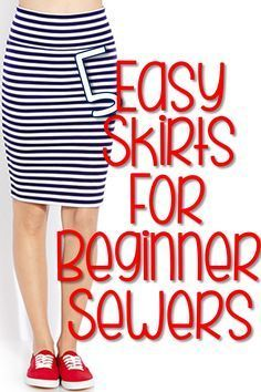 5 Easy Skirts mit Anleitung ohne SM