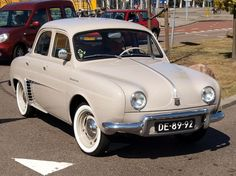 Classic French car: Renault Dauphine, my Dad gave me one for my 16th birthday in 1959.