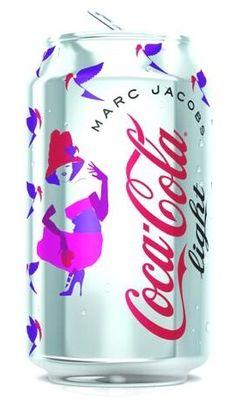 Stephen Jones hat on MJ Diet Coke!