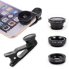 Cell Phone 31 Camera Lenses for iPhone HTC Samsung Smart Phone TabletsiPad and LaptopsUniversal Clip Valentines Day Gifts for Him or Her Magenta * Click for Special Deals #ValentinesDayGiftsforHim