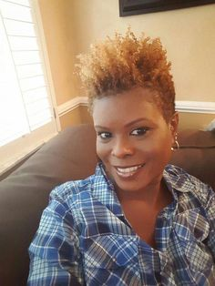 Tapered cut on natural hair Natural Tapered Cut, Natural Short Cuts, Natural Hair Styles For Black Women, Natural Styles, Tapered Twa, Short Curly Hair, Short Hair Cuts, Curly Hair Styles, Short Afro