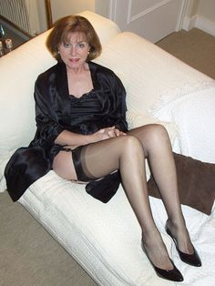 Sexy older women stockings
