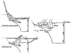 (211898561)Transporter T25/T3 5/1979-7/1992 - Westfalia / Mobilier et accessoire - Charnières de clic clac (la paire)